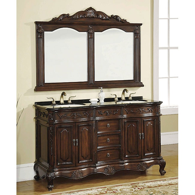 ica furniture annette 2 sink bathroom vanity with mirror free