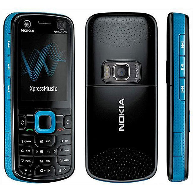 Nokia 5130 XpressMusic Blue GSM Unlocked Cell Phone