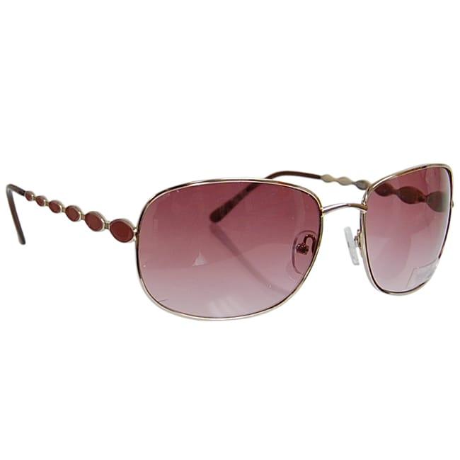 Kenneth Cole Reaction KC1050 Women's Metal Rim Sunglasses