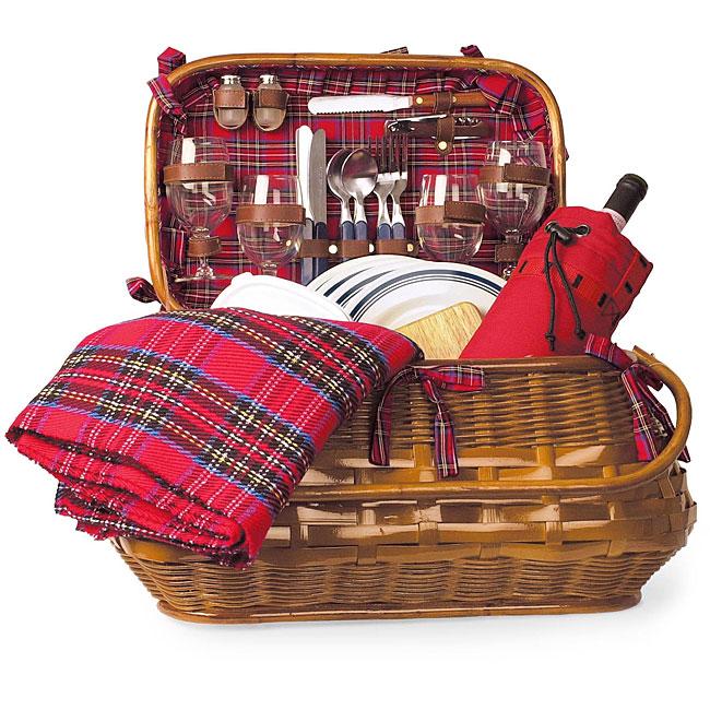 Picnic Time Highlander Deluxe Picnic Basket