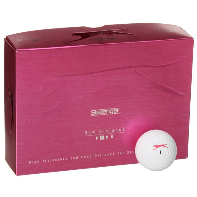 Slazenger Pink Ladies Golf Balls (Set of 144)