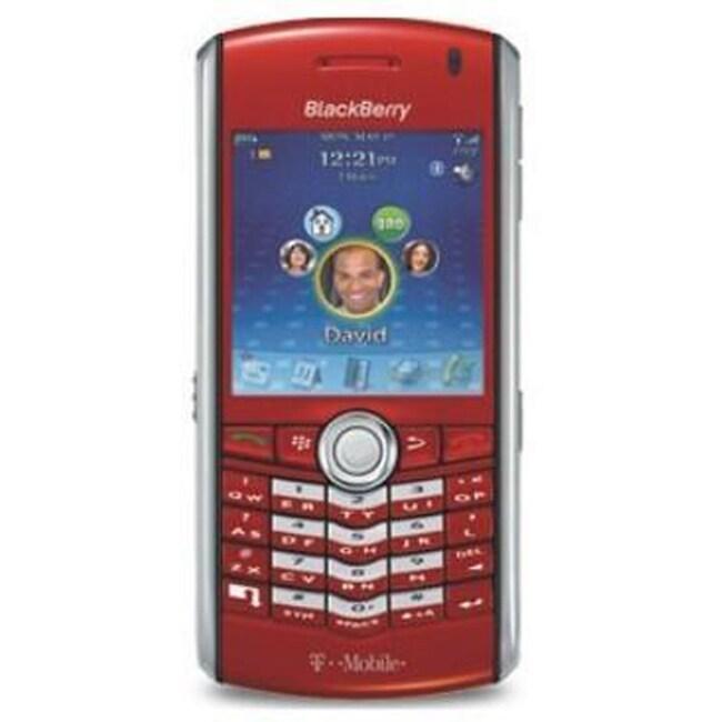 Blackberry 8100 Pearl Red Unlocked GSM PDA Phone (Refurbished)