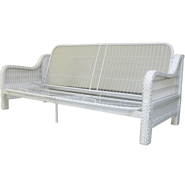 kauai queen wicker futon frame