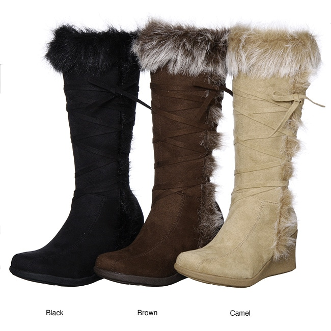 Furry Inner Shoes Boots