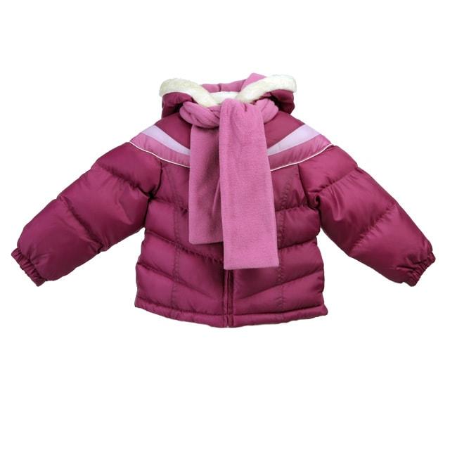 Christmas dress oshkosh - Oshkosh Toddler Girl S Purple Colorblock Bubble Coat Free Shipping
