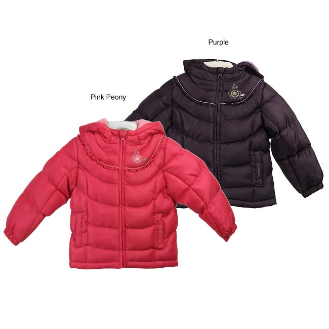 43ba4f82f Shop Carters Toddler Girl s Soild Color Zip-up Coat - Free Shipping ...