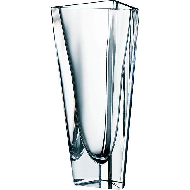 Shop Orrefors Glass Triangle Vase Free Shipping Today Overstock