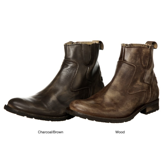 maruti s calvino distressed leather boots free