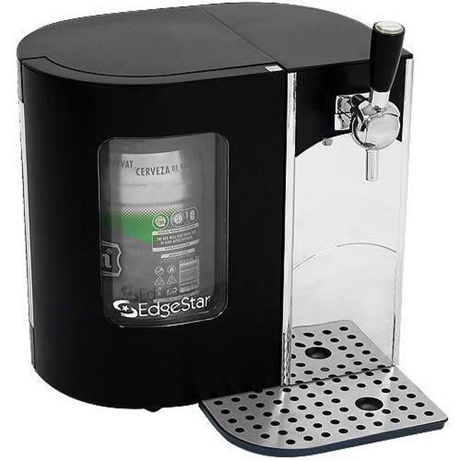 edgestar 5 liter mini keg beer dispenser kegerator free shipping. Black Bedroom Furniture Sets. Home Design Ideas