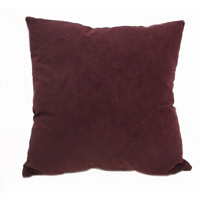 Decorative Pillows Eggplant : Fairview 16-inch Square Eggplant Throw Pillows (Set of 2) - Free Shipping On Orders Over $45 ...