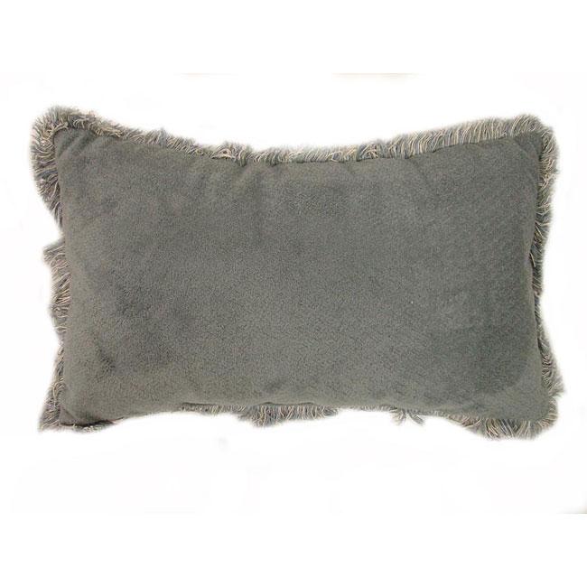 Mohair Jade Throw Pillows (Set of 2)