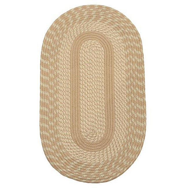 Middletown Natural Indoor/ Outdoor Braided Rug (2' x 6')
