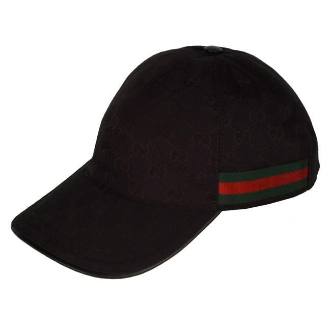 Gucci Hats For Men: Gucci Men's Black Baseball Hat