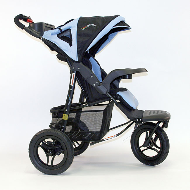 Go Go Babyz Urban Advantage Stroller in Vista Blue