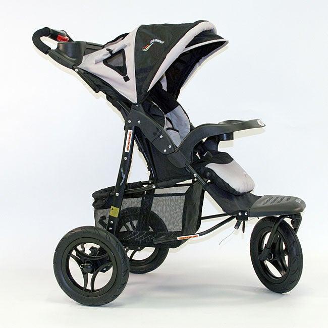 Shop Go Go Babyz Urban Advantage Stroller In Silver Free