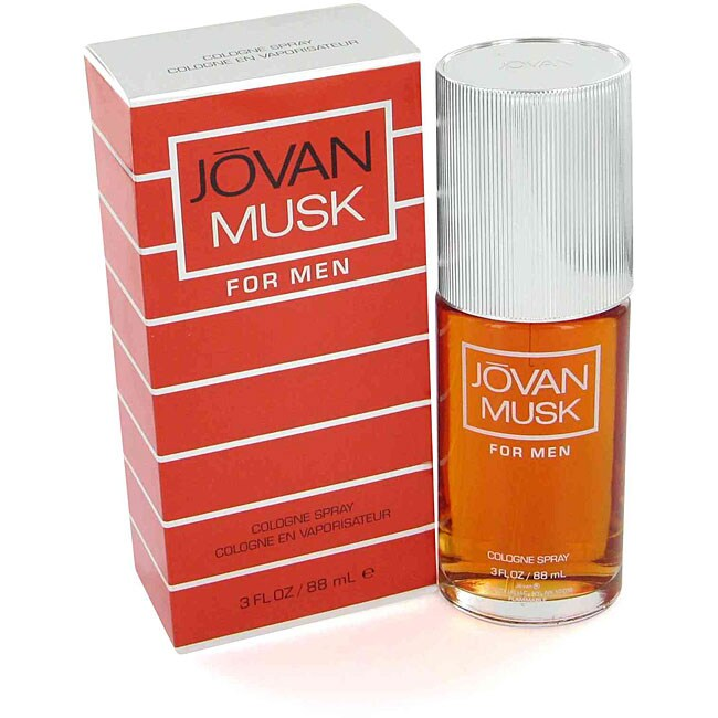 Jovan Musk Men's 3-ounce Cologne Spray