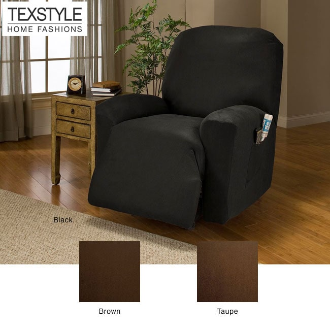 Texstyle Microfiber Faux Leather 4 Piece Recliner