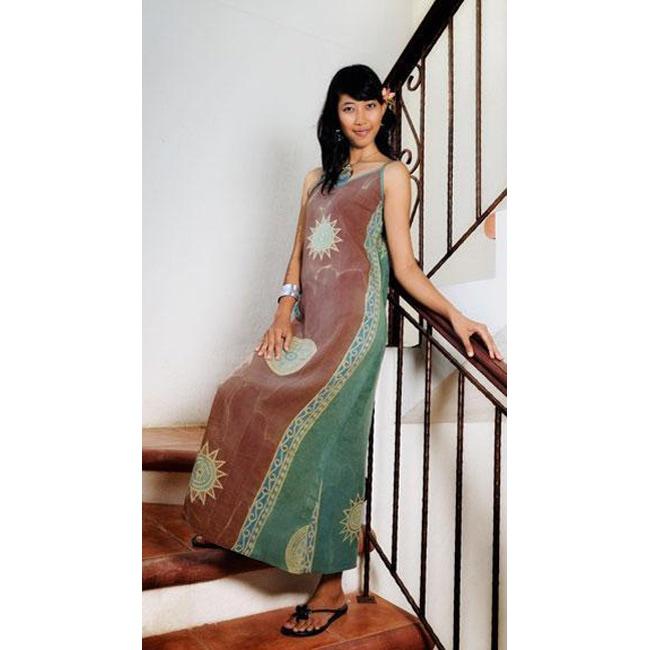 Baliku Casual Long Dress (Indonesia)