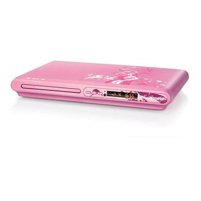 Memorex MVD2040-FLR Pink Flower DVD Player (Refurbished)