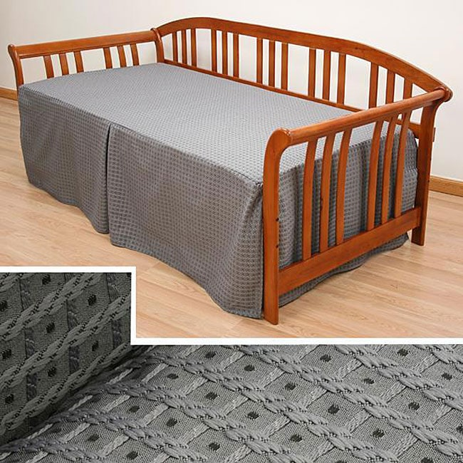 Basket Grey Twin Size Daybed Cover Free Shipping Today