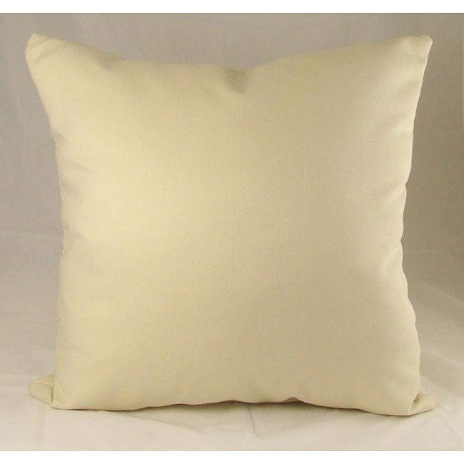 Ultra Point White Throw Pillows (Set of 2)