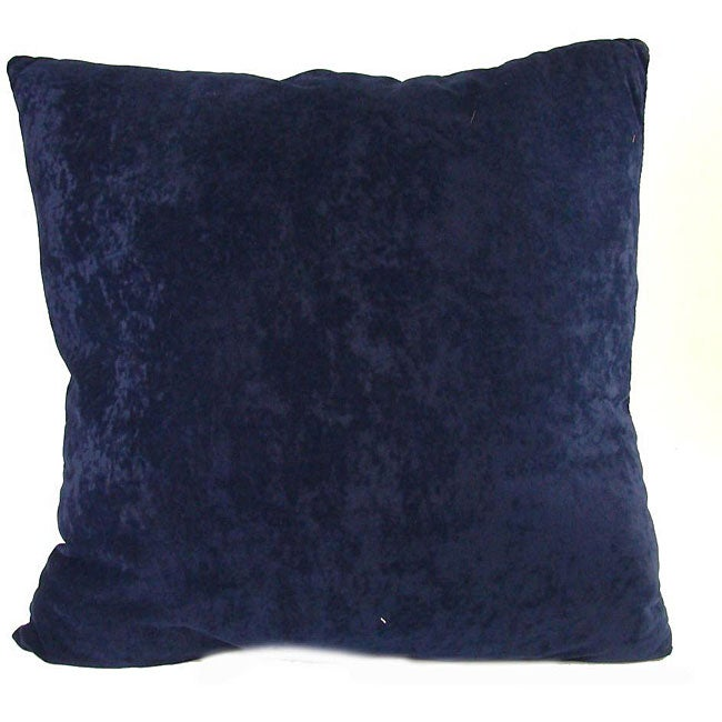 Ultimate Suede Cobalt Blue Throw Pillows (Set of 2)