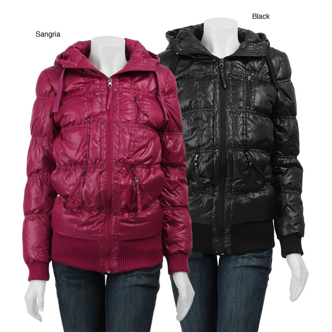 First Down Women S Slim Bubble Jacket Free Shipping On