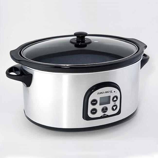 Euro Pro Seven-quart Slow Cooker