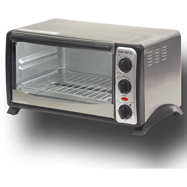 Euro Pro 1200 Watt Convection Toaster Oven Free Shipping