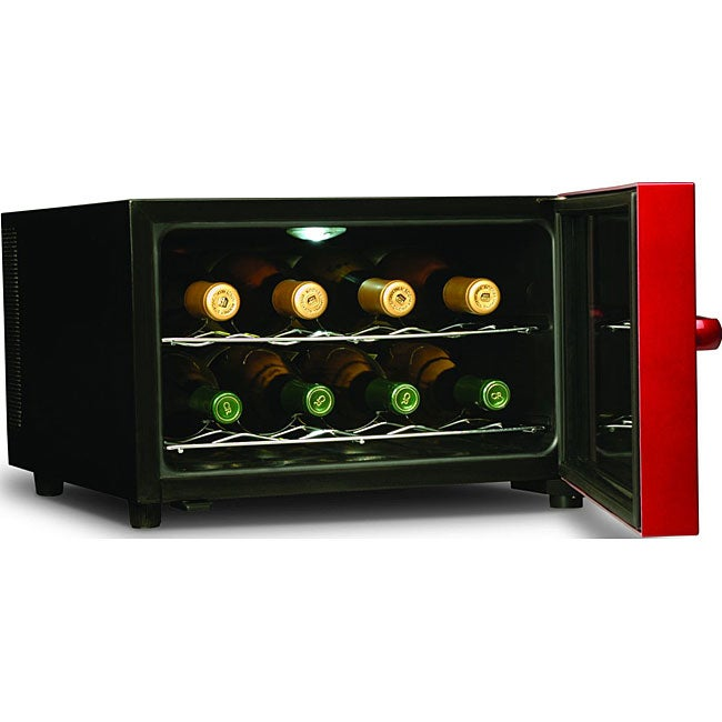 Emerson 8 bottle red wine cooler free shipping today for Modern homes 8 bottle wine cooler