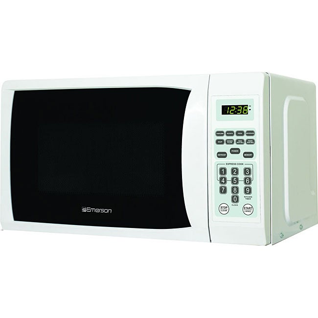 Emerson Countertop Microwave : Emerson .7-cubic-foot White Microwave - Free Shipping Today ...