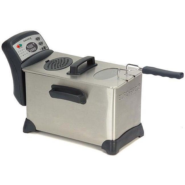 Shop Euro Pro Professional 4 Liter Deep Fryer Free