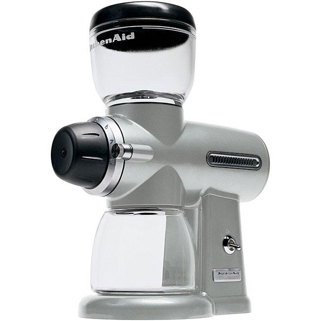 KitchenAid KPCG100NP Nickel Pearl Pro Line Burr Coffee Grinder