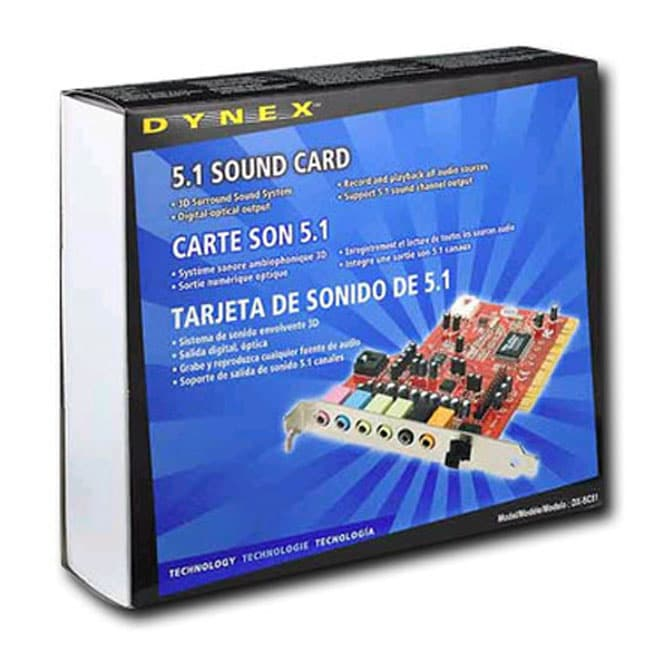 DYNEX PCI SOUND CARD DRIVER UPDATE