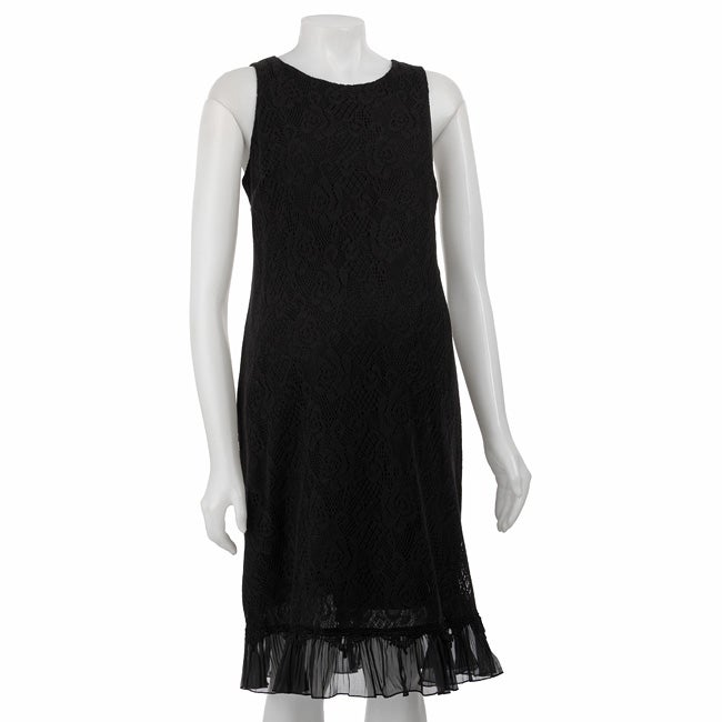 247bd510e2f Shop Liz Lange Women s Maternity Lace Shift Dress - Free Shipping On Orders  Over  45 - Overstock - 4271749