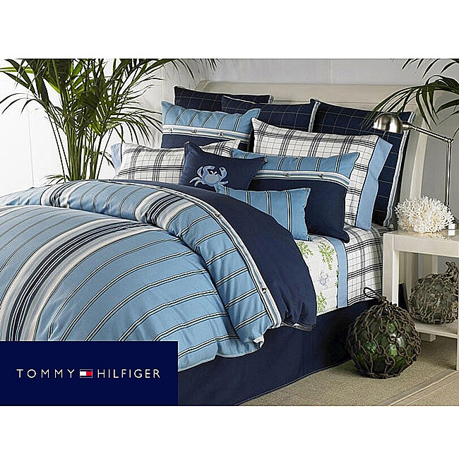 Tommy Hilfiger Grand Cay 8-piece Bedding Ensemble with Sheet Set