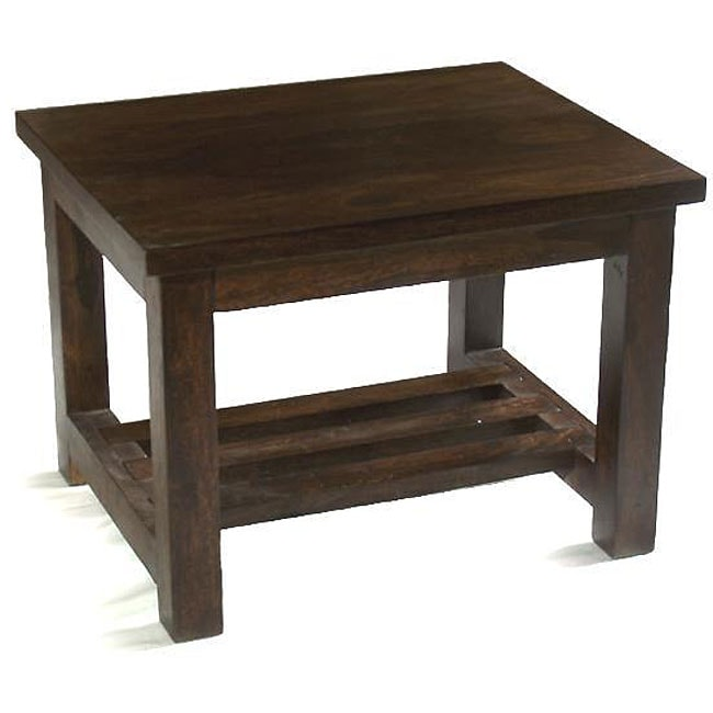 Tea-stained Rosewood Coffee Table (India) - Handmade] Tea-stained Rosewood Coffee Table (India) - Free