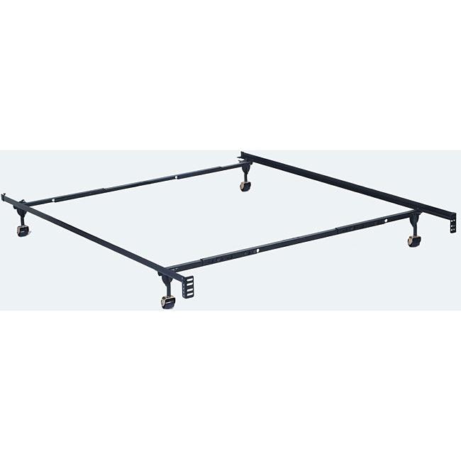 furniture of america adjustable twin full queen size metal bed frame - Twin Size Metal Bed Frame