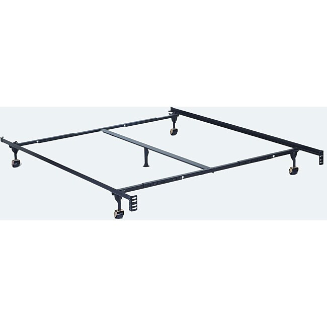 Furniture of America Adjustable TwinFull Queensize Metal Bed