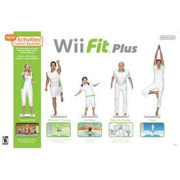 Wii - Wii Fit Plus with Balance Board - By Nintendo of America