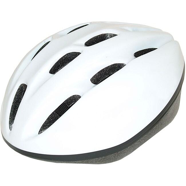 Adult White 1500 ATB Bicycle Helmet (54-58 cm)