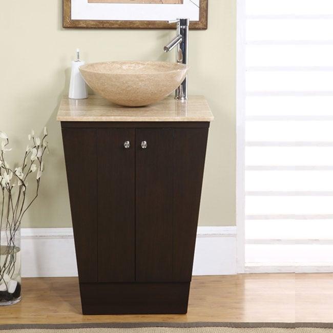 Silkroad Exclusive Auburn Bathroom Vessel Vanity Sink