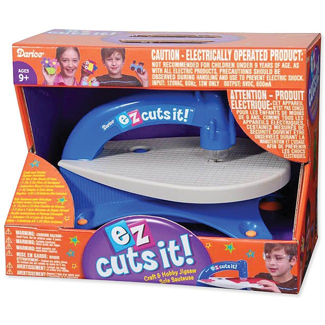 'EZ Cuts It!' Craft and Hobby Jigsaw
