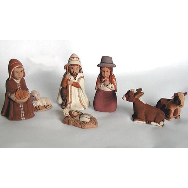 Handmade Peruvian Nativity Set Peru Free Shipping On
