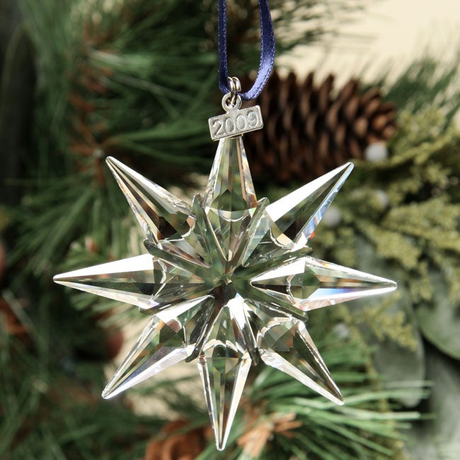 swarovski annual 2009 christmas ornament