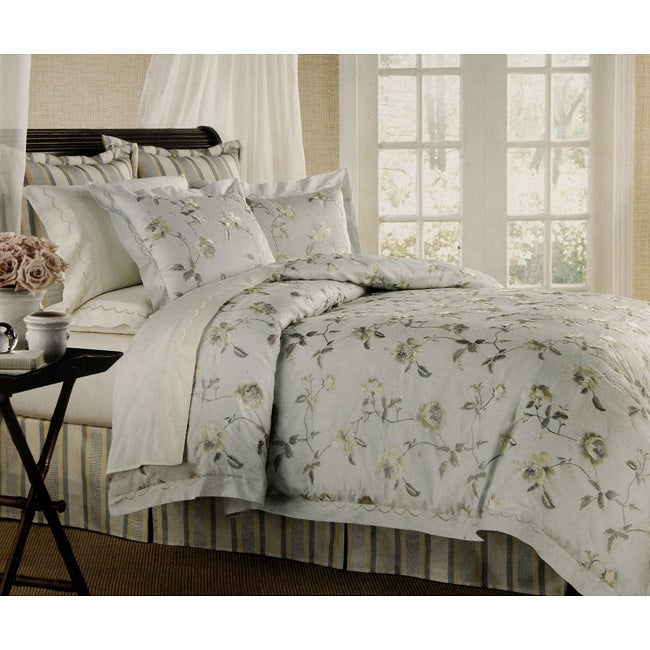 Raymond Waites 10 Piece Duvet Cover Set With 220 Thread Count Sheets