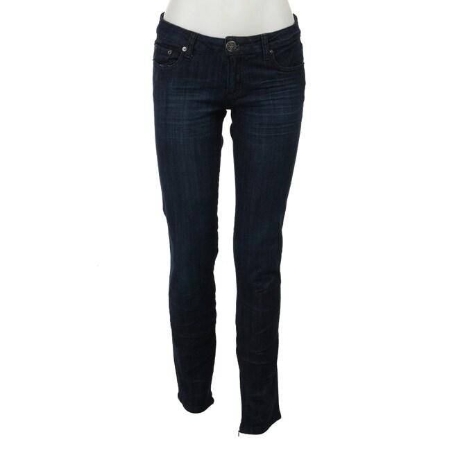 Spoon Jeans Junior's Dark Rinse Skinny Jeans