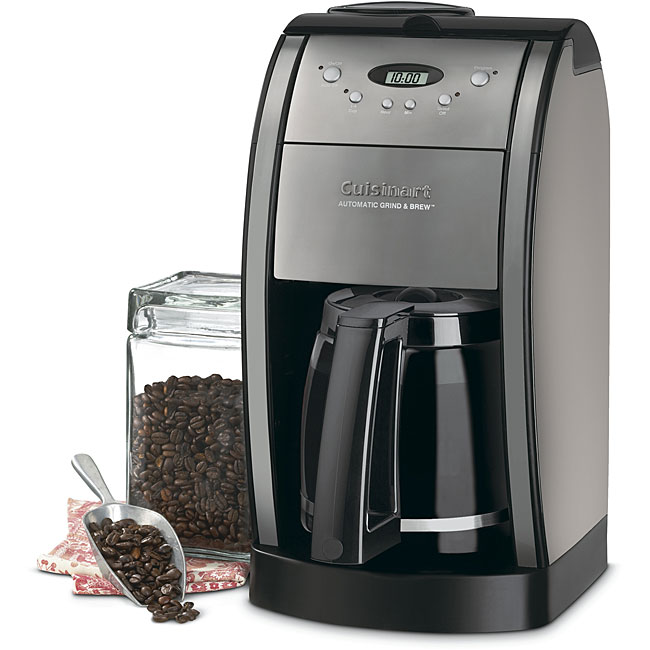 Cuisinart Grind & Brew Thermal Coffeemaker (Refurbished)