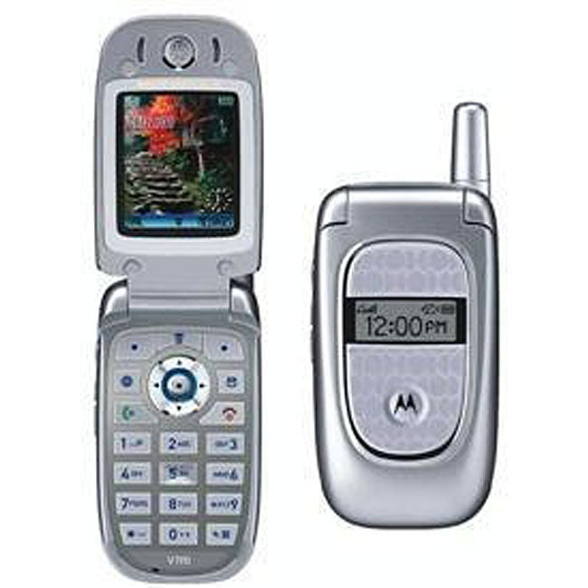 Motorola V190 Unlocked GSM Quadband Cell Phone (Refurbished)