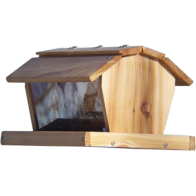 Stovall Extra Large Barn-style Birdfeeder